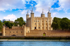 Tower of London in England Royalty Free Stock Images
