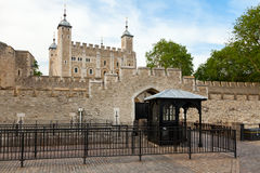 Tower of London entrance Royalty Free Stock Image
