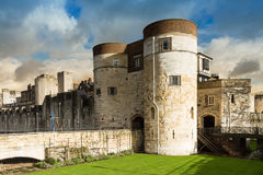 Tower of London in the evening sun Royalty Free Stock Image