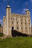 Tower of London facade on a sunny day royalty free stock images