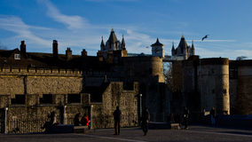 Tower of London fortress Stock Photography
