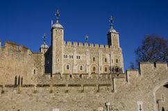 Tower of London front Stock Image