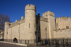 Tower of London front Royalty Free Stock Photo