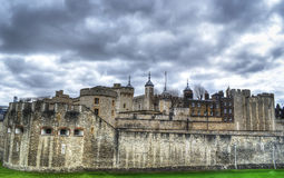 The Tower of London in hdr Royalty Free Stock Photography