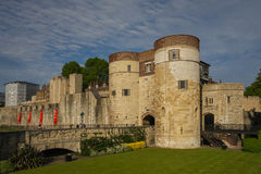 Tower of London. Her Majesty's Royal Palace and Fortress Royalty Free Stock Photos