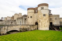 Tower of London. Historical Site, London, UK royalty free stock photo