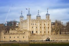 The Tower of London, landmark. Of the city Stock Image