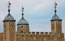 The Tower of London. Landmark Royalty Free Stock Photography