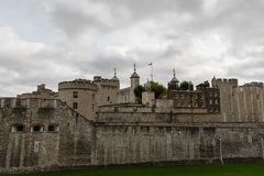 Tower of London in late October. England stock photos