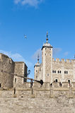 Tower of London at London, England Royalty Free Stock Photos