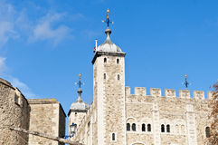 Tower of London at London, England Royalty Free Stock Photography