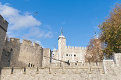 Tower of London at London, England Royalty Free Stock Images