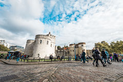 Tower of London main gate or entrance, England, UK Royalty Free Stock Images