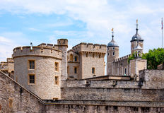 Tower of London. The Tower of London, medieval castle and prison Stock Photo