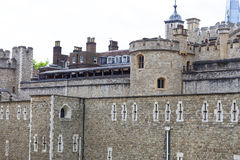 Tower of London, medieval defense building, London, United Kingdom Stock Photos