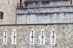 Tower of London, medieval defense building, London, United Kingdom Stock Photography