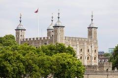 Tower of London, medieval defense building,  London, United Kingdom Stock Image