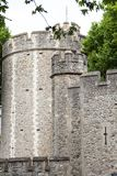 Tower of London, medieval defense building, London, United Kingdom. The castle was used as a prison from 1100 until 1952 Stock Photo
