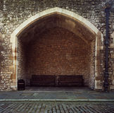 Tower of London Niche Stock Image