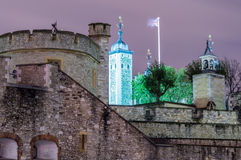 Tower of London by Night Stock Photography