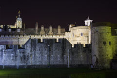 Tower of London at night Stock Photos