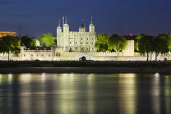 Tower of London At Night Royalty Free Stock Photos