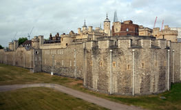 The Tower of London Outer Curtain Wall. Royalty Free Stock Photography