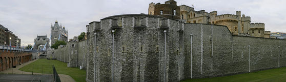 Tower of London panorama. Stock Images