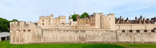 Tower of London panorama Stock Photos