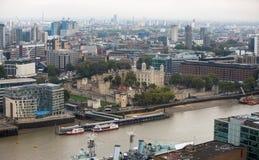 Tower of London panorama Stock Image