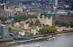 Tower of London panorama Stock Photography
