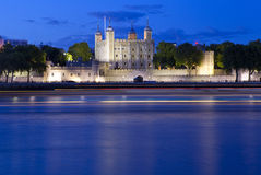 Tower of London and the River Thames Royalty Free Stock Photography