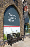Tower of London Shop Royalty Free Stock Photos
