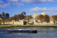 Tower of London skyline Royalty Free Stock Photos