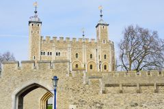 Tower of London from South Bank Stock Photos