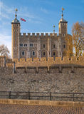 Tower of London (started 1078) Stock Photo