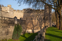 Tower of London (started 1078) Stock Images