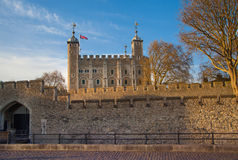 Tower of London (started 1078) Stock Image