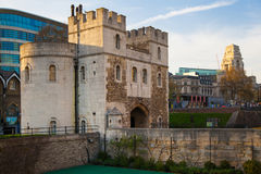 Tower of London (started 1078) Royalty Free Stock Image