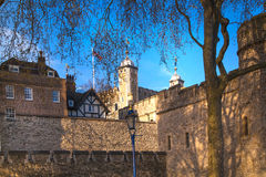 Tower of London (started 1078) Royalty Free Stock Photos