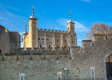Tower of London (started 1078) Stock Photos