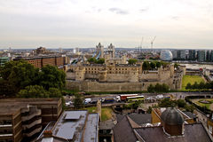 Tower of London and Tower Bridge Royalty Free Stock Photos
