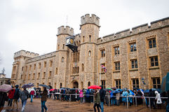 TOWER OF LONDON, UK Stock Photo