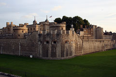 Tower of London, UK. Exterior view of the Tower of London in the United Kingdom Royalty Free Stock Image