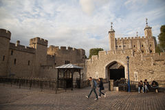 The Tower of London, the UK. The historic Royal Palace Stock Photos