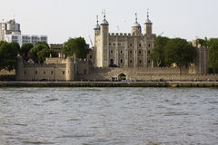 Tower of London, UK. Medieval Tower of London with the White Tower Stock Images