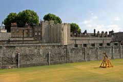 Tower of london walls Stock Images