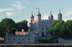 Tower of London. Wiew across the Thames river. Tower of London. UK. England Stock Image
