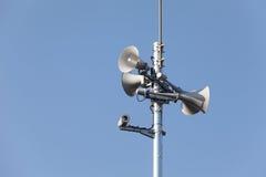 Tower of loudspeaker Royalty Free Stock Photo