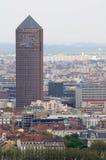 Tower in Lyon Part-Dieu - Tour du Crédit Lyonnais Royalty Free Stock Photo